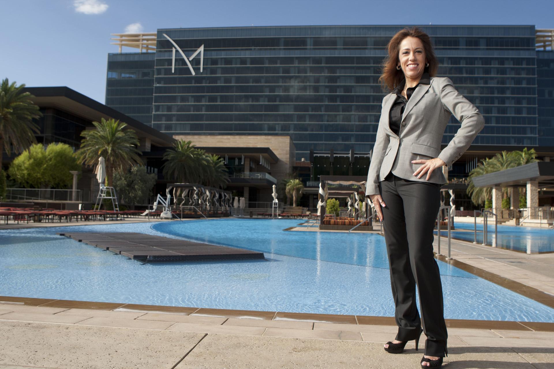 Policyholder Veronica Fuentes, Risk Managment at M Resort, Las Vegas.