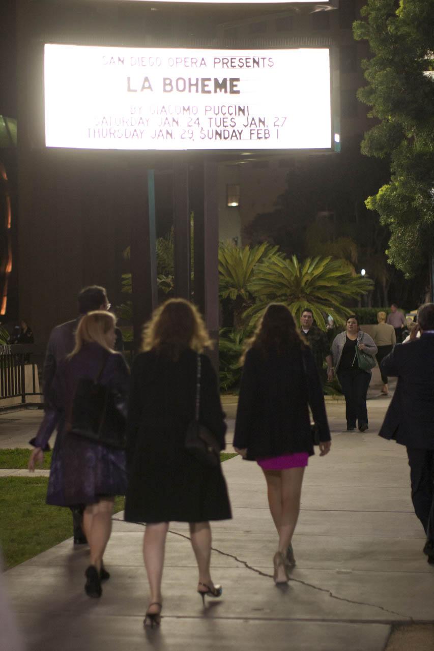 Opening night, San Diego Opera